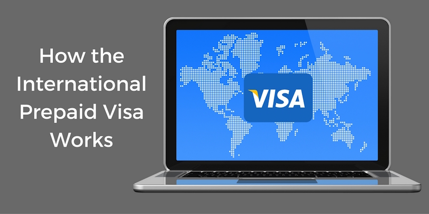 International Prepaid Visa – How it works in 3 Steps