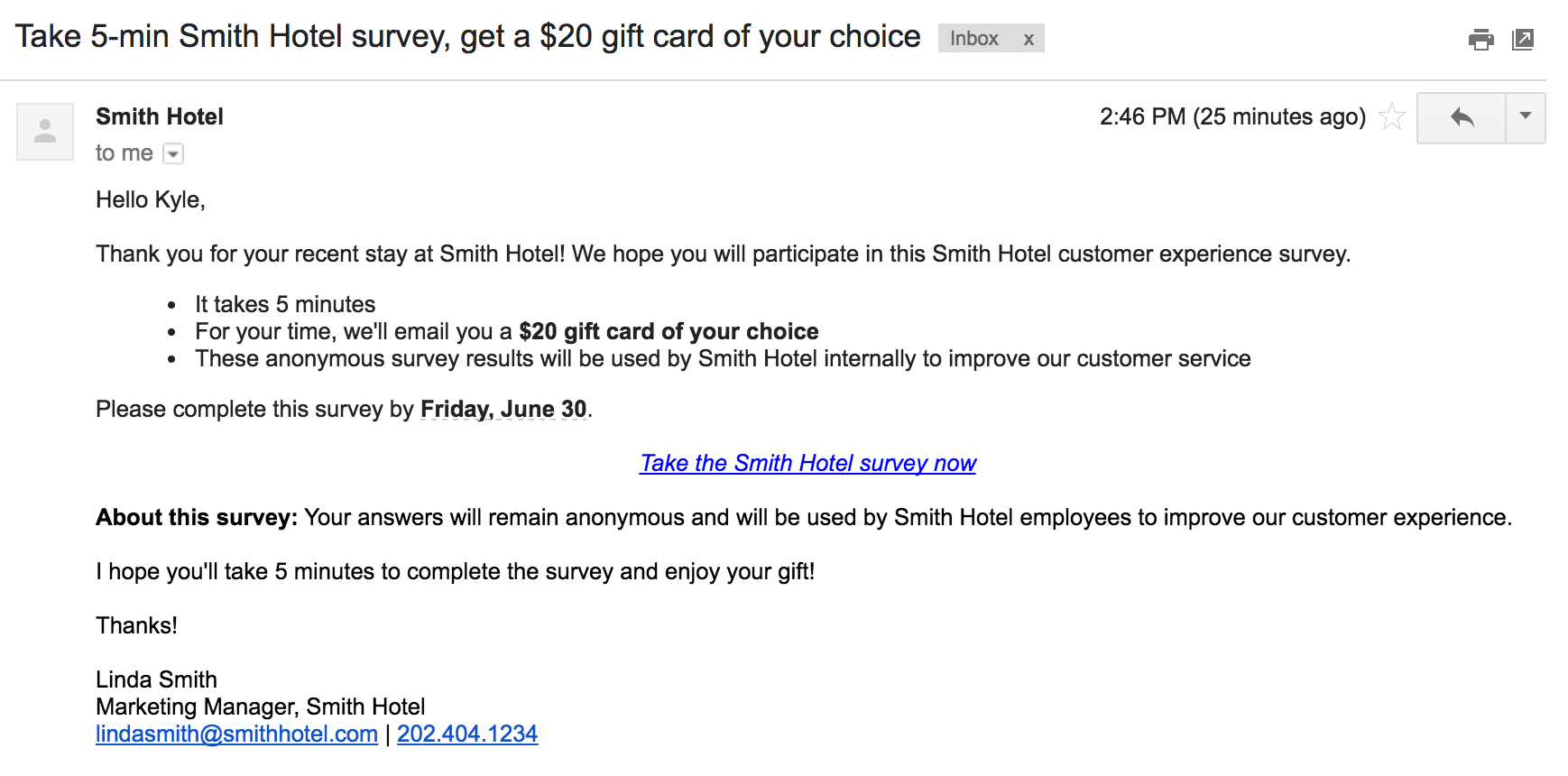 How To Compose A Great Survey Invitation Email Template Rybbon