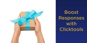 automate survey rewards with Clicktools