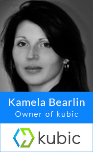 Kamela Bearlin, Owner of kubic