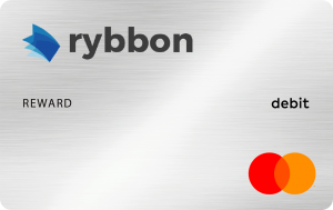 The Rybbon Mastercard with Mobile Wallet reward.
