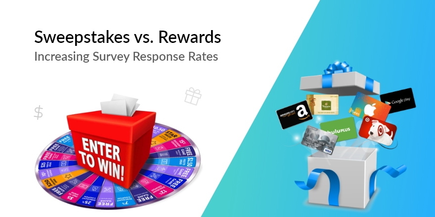 Increasing Survey Response Rates – Sweepstakes vs. Rewards